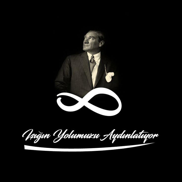 Işığın Yolumuzu Aydınlatıyor. Yaptığın herşey için sana sonsuz minnettarız. Bir gün değil hergün #ÖzlüyoruzAtam #MustafaKemalAtaturk #10Kasım #Türkiye #Ataturk