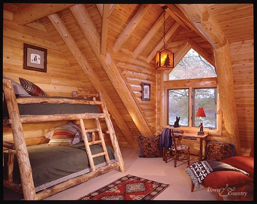 Log Cabin Kids Bedrooms 302 best My Future Cab...