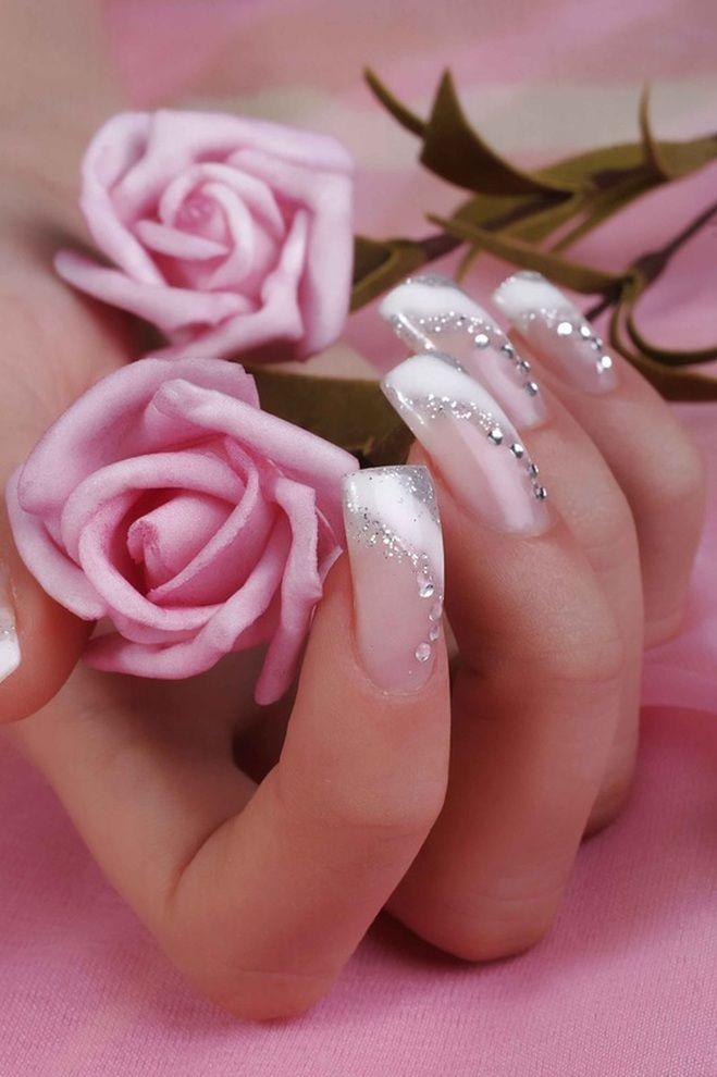 wedding nails #french