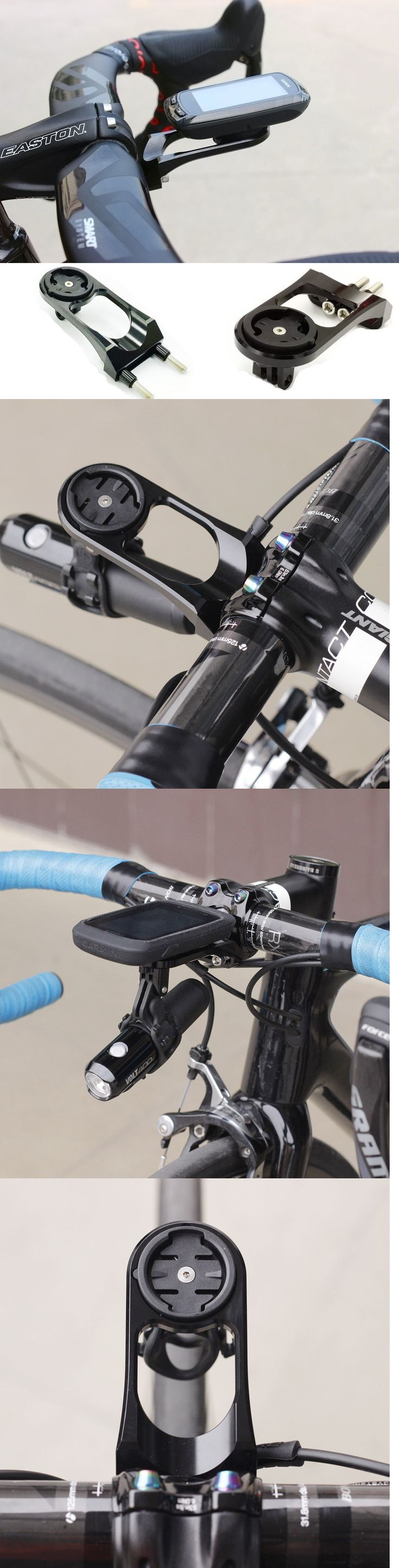 Cycle Computers and GPS 30108: Us Out Front Stem Computer Mount Bracket Holder For Garmin 1000 820 Gopro -> BUY IT NOW ONLY: $43.69 on eBay!