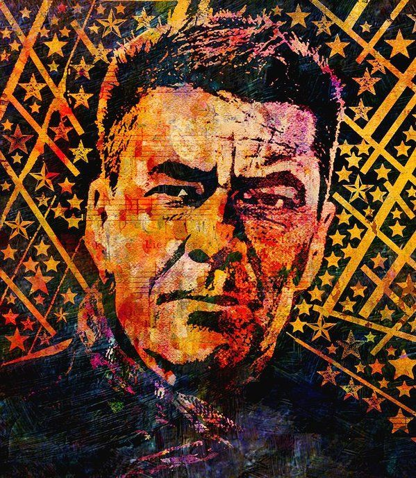 John Leslie Keeble Poster featuring the painting John Keeble by Otis Porritt