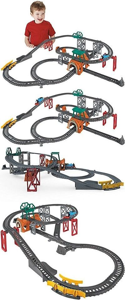 Trains and Vehicles 113518: Fisher-Price 5-In-1 Track Builder Set, Ki -> BUY IT NOW ONLY: $38.59 on eBay!