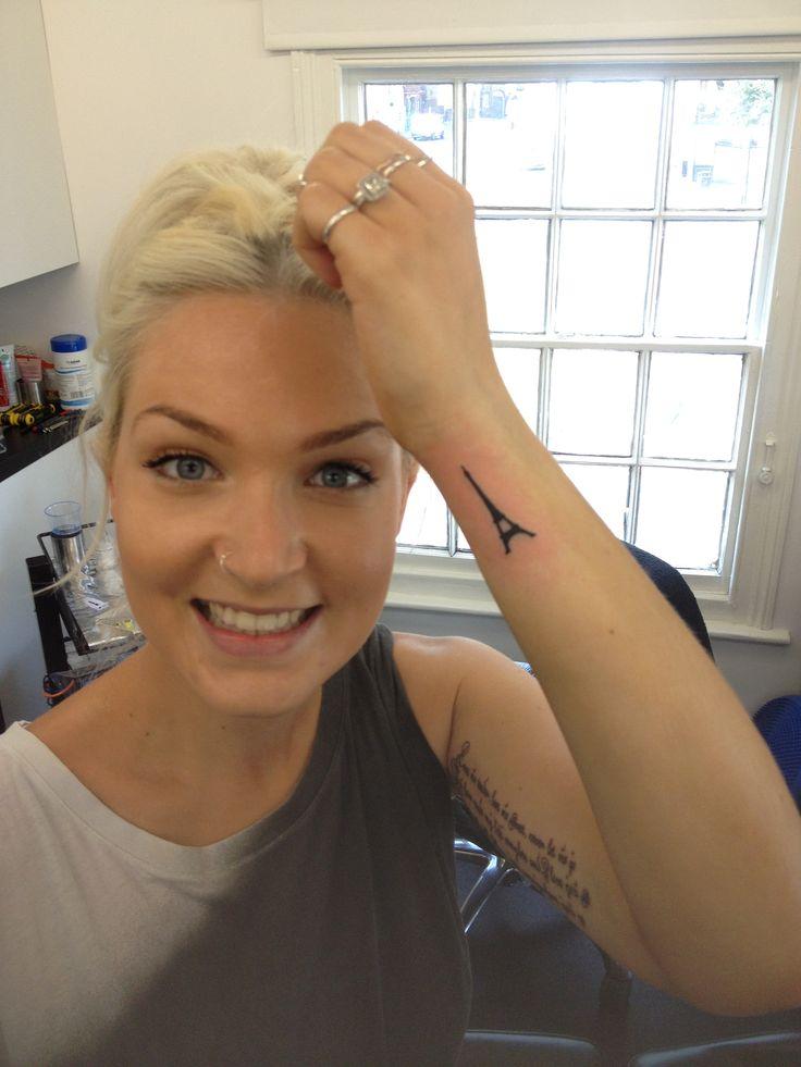 tattoo studio 2 tattoos ink inked eiffel tower love me tender lyrics wrist inner arm bicep cool