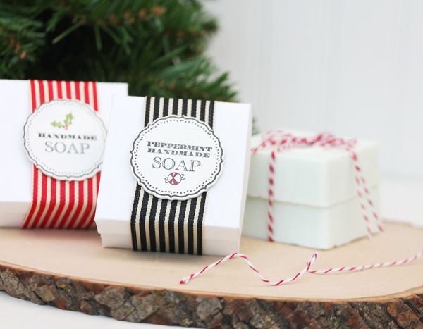 lovely packaging ideas using ribbon twine with white boxes and paper labels