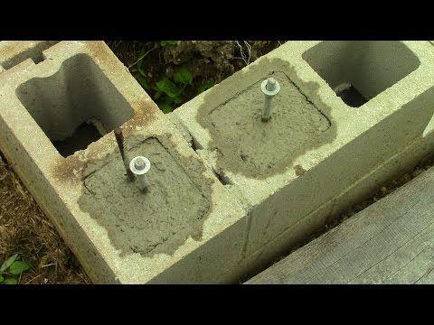 59 best Building a Concrete-block images on Pinterest Cinder