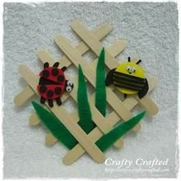 Bug crafts - love this looks so cute