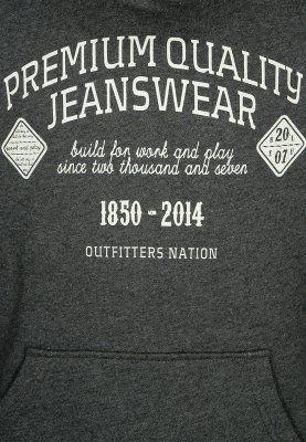 Outfitters Nation - OFNKAZ - Hættetrøjer - dark grey melange