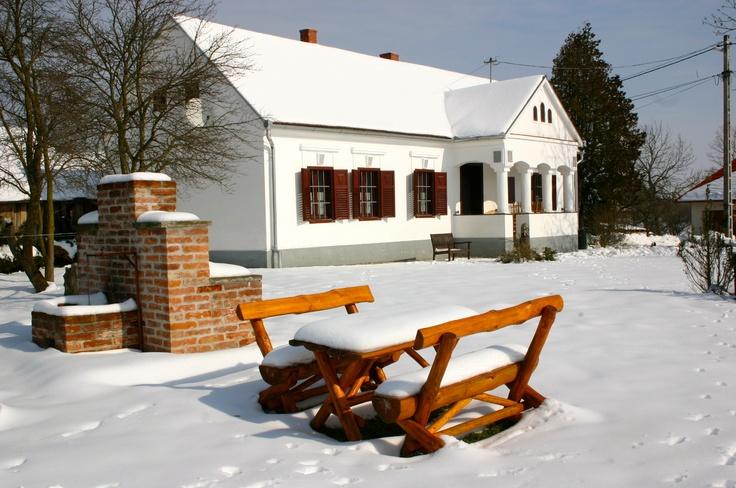 Winter in the Őrség  www.orseg-szallas.hu