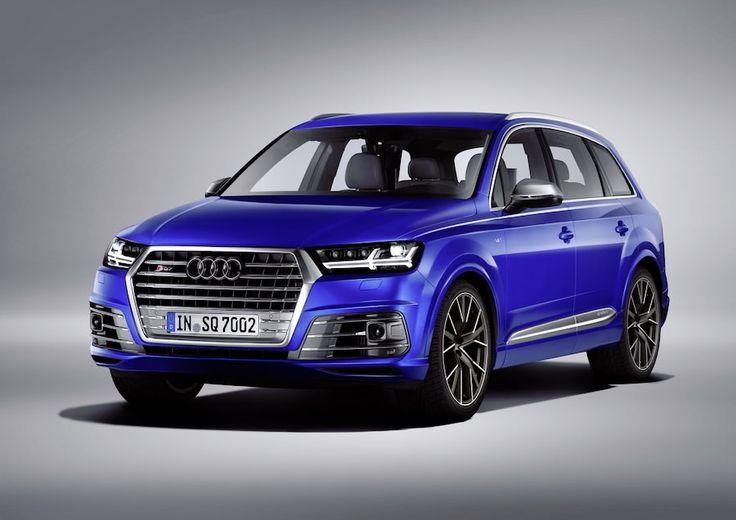 Ces photos officielles du Audi SQ7 nous montre que la marque Allemande n'est pas prête d'abandonner le Diesel même dans sa version sportive.