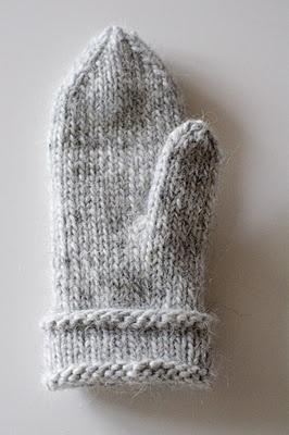 How to knit lovikkaglowes
