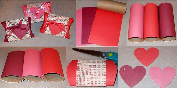 klorolle geschenkverpackung herzen valentinstag basteln. Black Bedroom Furniture Sets. Home Design Ideas