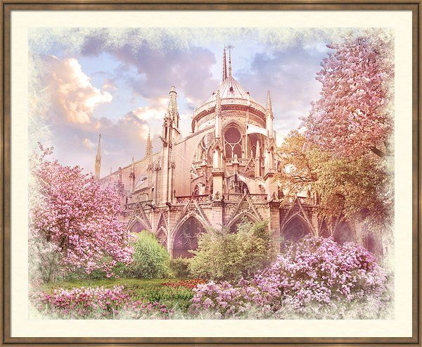 Spring Framed Print By Marina Grey