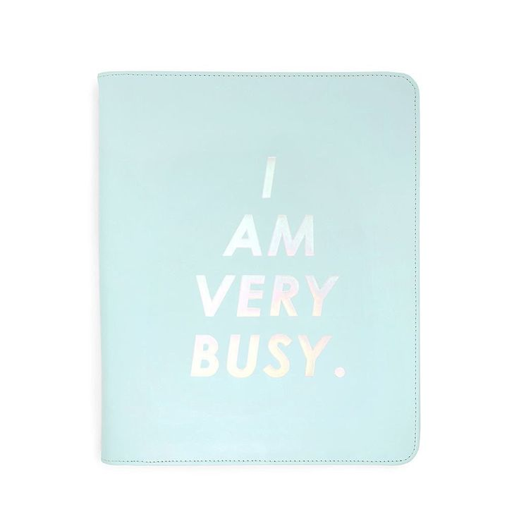 Ban.do Get It Together Folio - Busy Blue