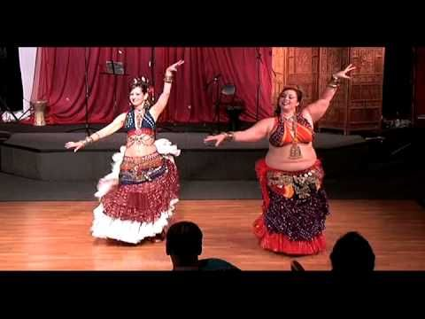 Awalim Tribal Belly Dance Co ---- I love how their bodies are so different, yet they look exactly the same while dancing. A MUST WATCH!