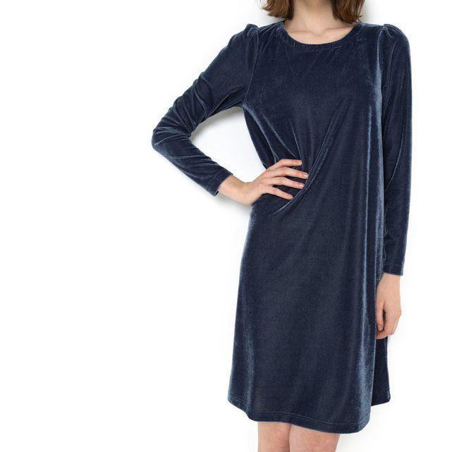 Платье из велюра MADEMOISELLE R