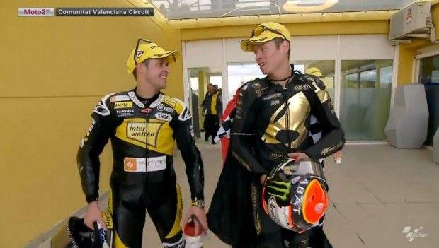 Moto2 Valencia 2014: Luthi beffa Rabat sotto la bandiera a scacchi