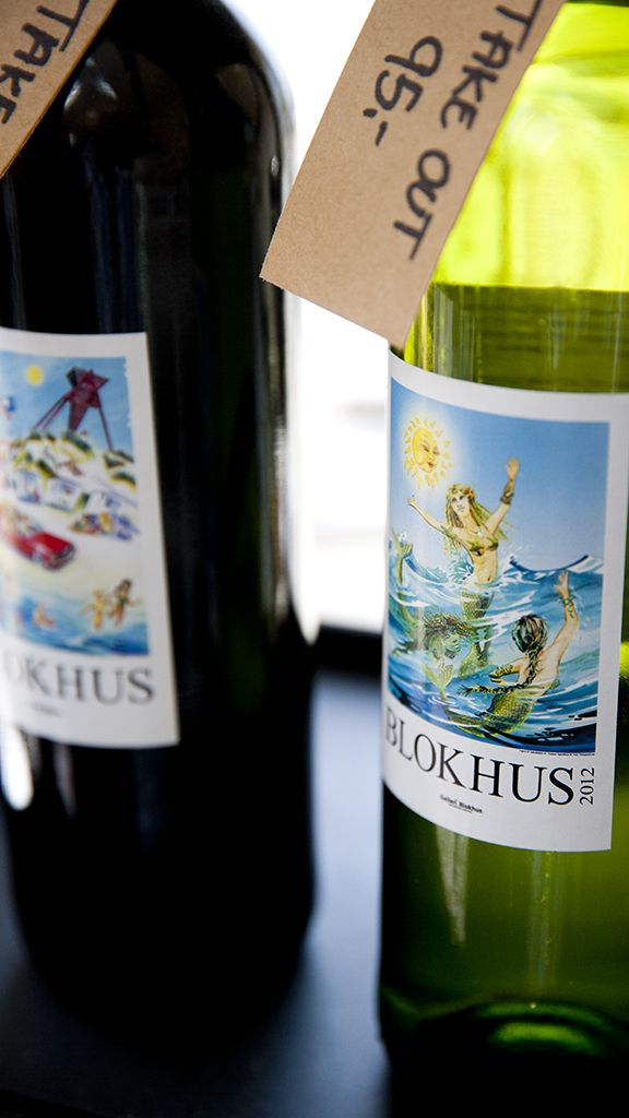 Local wine from Blokhus