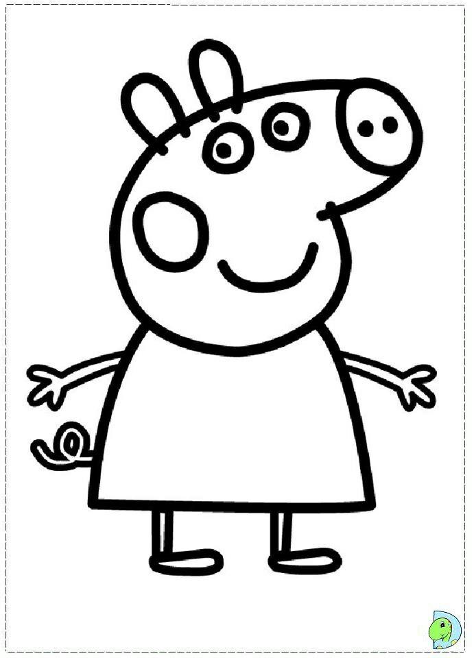 Pin By Renata On Inne Kolorowanki Peppa Pig Coloring Pages Peppa Pig Colouring Peppa Pig