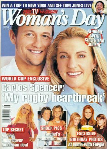 FERGIE - WOMAN'S DAY MAGAZINE NOVEMBER 8, 1999