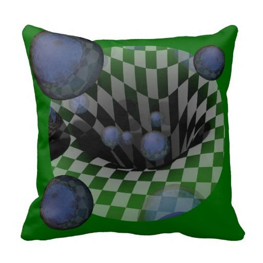 Mirrored Balls Throw Pillows by grsydonsartpillows at Zazzle