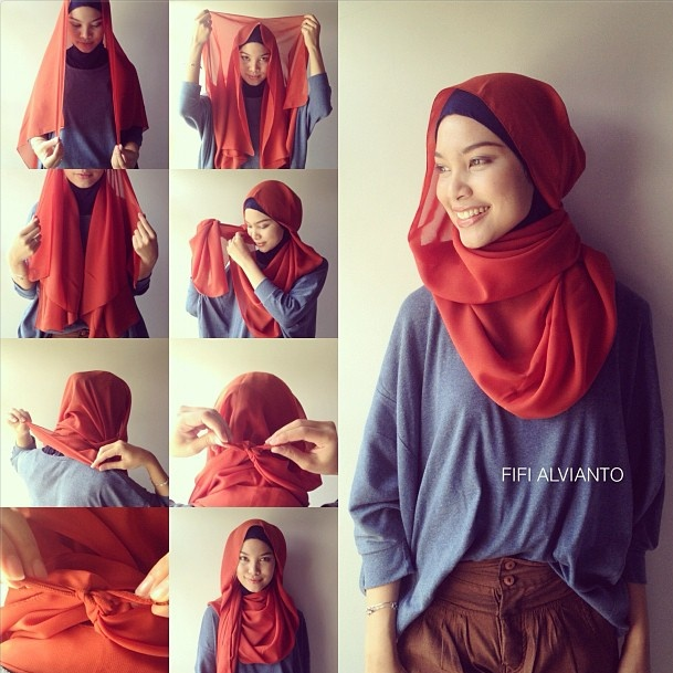 hijab tutorial. For my hijabi loves out there