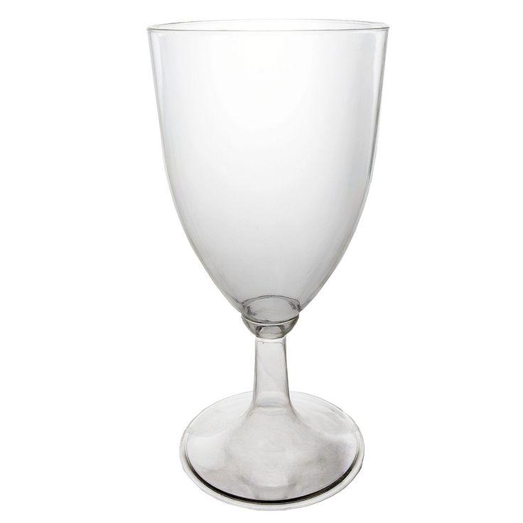 Party Essentials Plastic Wine Glasses, 8 oz. (48 ct.) - Sam's Club