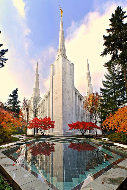 The Portland, Oregon Temple of The Church of Jesus Christ of Latter-day Saints
