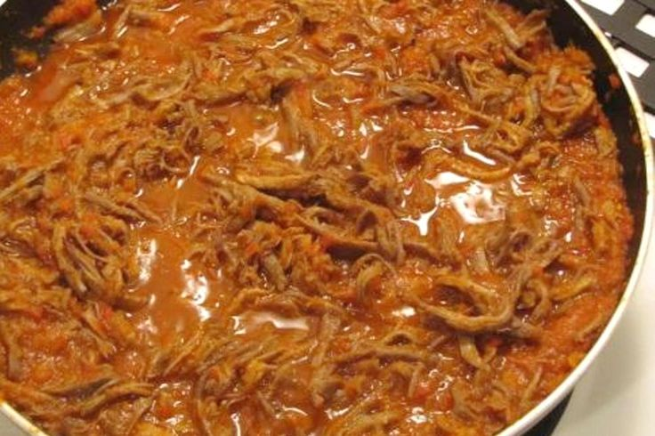 Carne Mechada (Venezuelan Shredded Beef)
