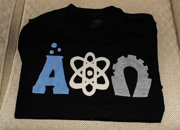 Science themed APO letters