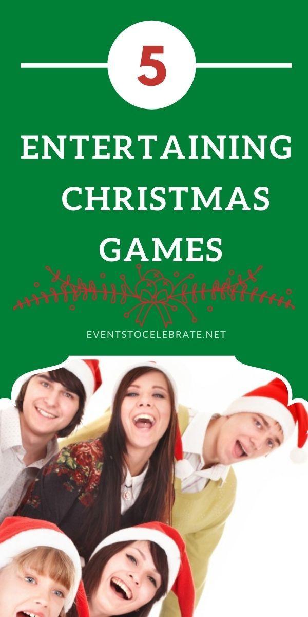 This Christmas season try these 5 entertaining Christmas games