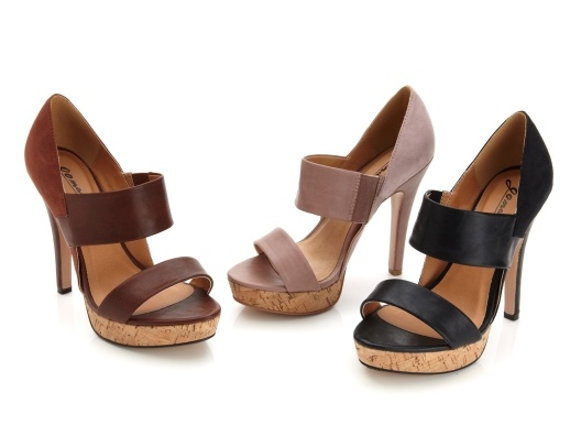 Oh, I love these shoes! $ 45Shoes, Gomax, Black Pairings, 44 Platform, Lacy 44, Brown, Nature Colors, Three Colors, Platform Sandals