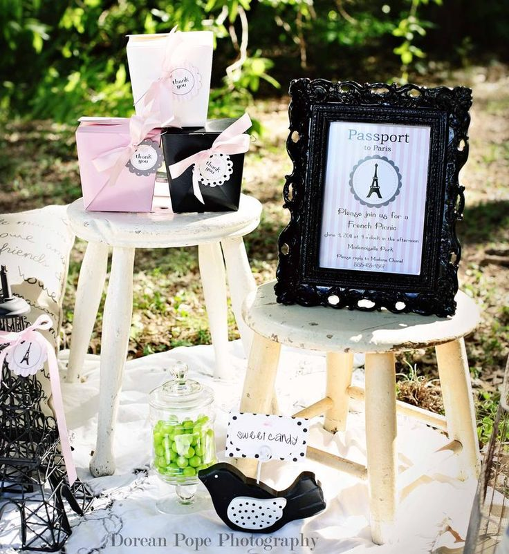 French Picnic Collection by anna and blue paperie (18 photos) - by: anna and blue paperie - www.hwtm.com