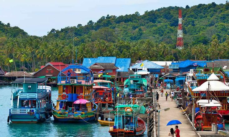 Koh Chang Fishing Villages