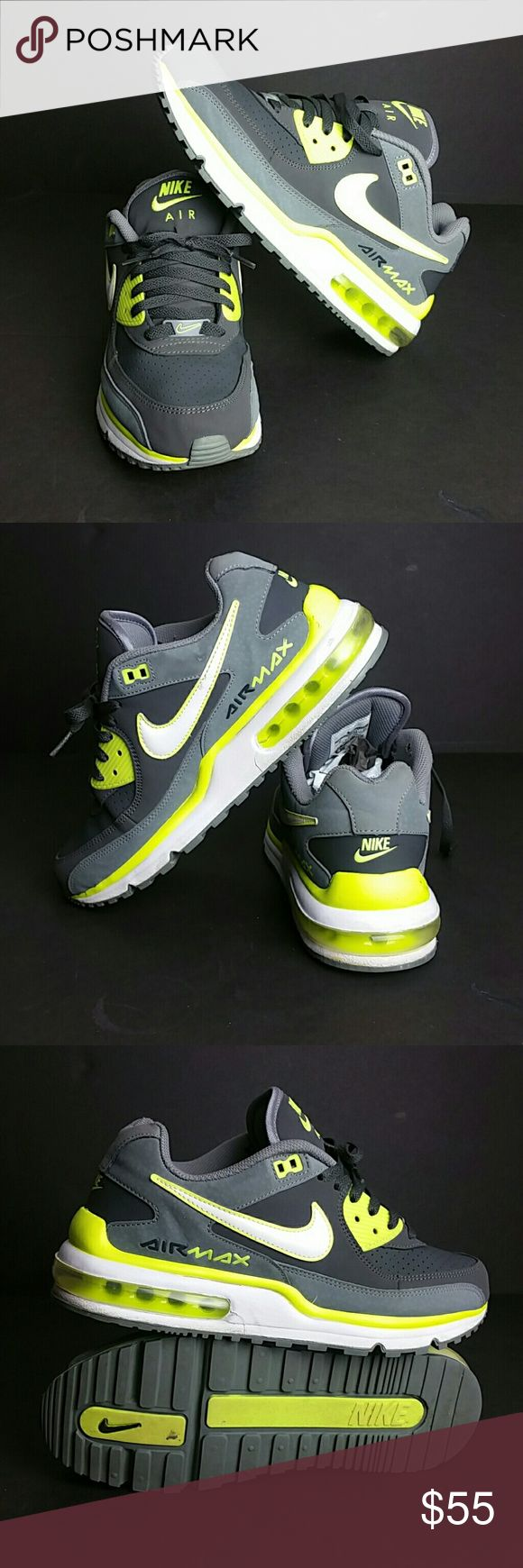 NIKE AIR MAX WRIGHT MEN'S SHOES VERY CLEAN INSIDE-OUT   SKE # UTPO NIKE Shoes Athletic Shoes