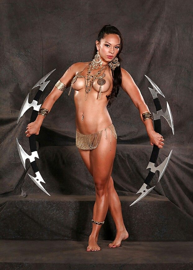 warrior Sexy naked female
