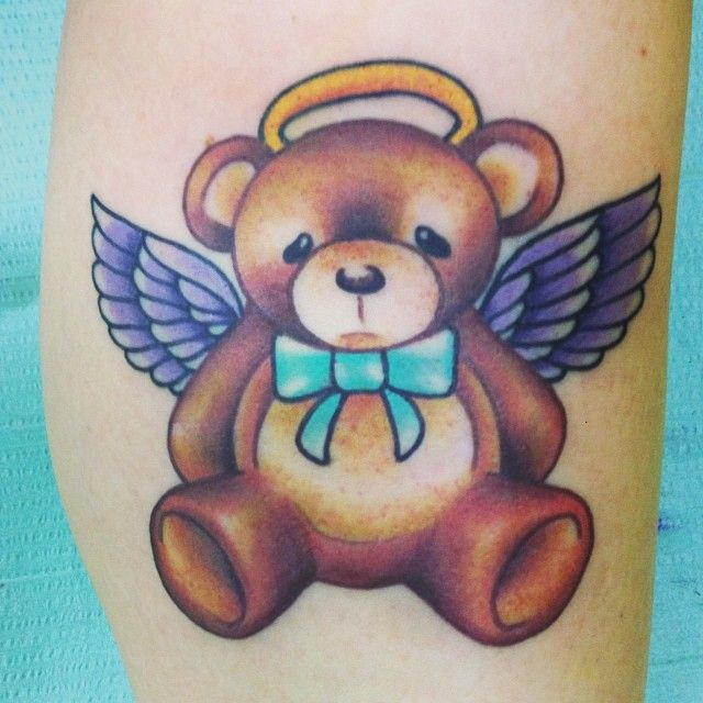 8 best images about tattoos on pinterest nancy dell 39 olio teddy bear tattoos and colors. Black Bedroom Furniture Sets. Home Design Ideas