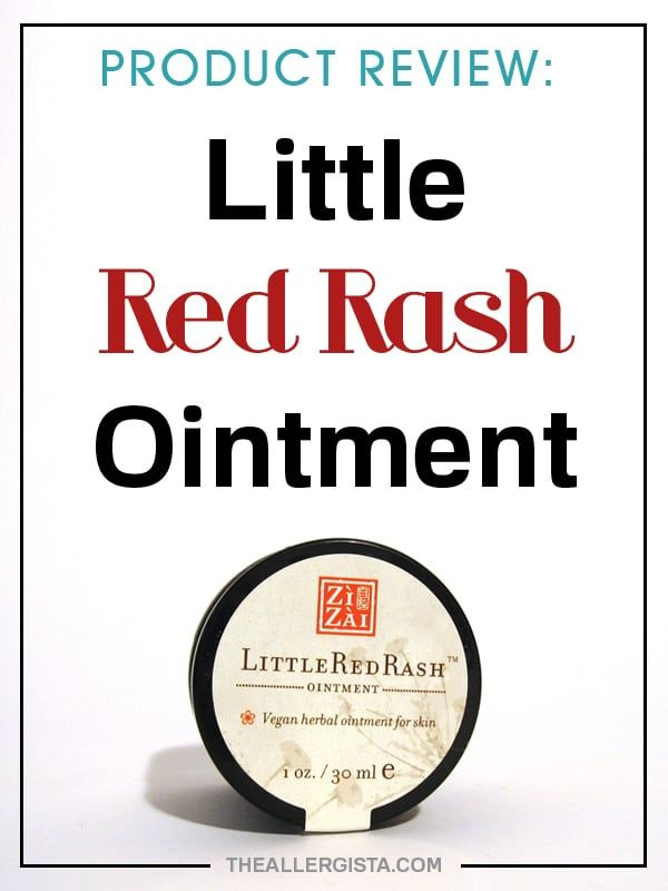 THE VERDICT IS IN! Product Review: Little Red Rash — The Allergista