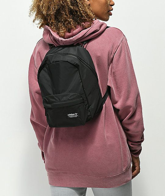 adidas National Compact Black Mini Backpack   My Style   Pinterest ... 2c7b61be51