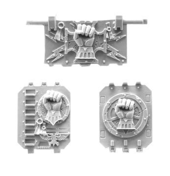 'Imperial/Crimson Fists Land Raider Doors