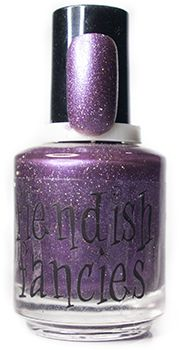 C.1-02: Darling, Darling - inspired by Bride of Frankenstein, from the Baneful Betrothal charity trio for Cystic Fibrosis by Fiendish Fancies ~ 5-Free, vegan, cruelty-free Nail Lacquer hand-poured in Canada