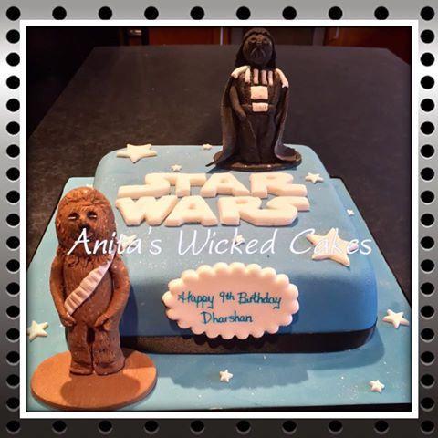 https://flic.kr/p/LVXNbb | 14212604_1531185883573583_5851287695390071959_n | Star Wars cake