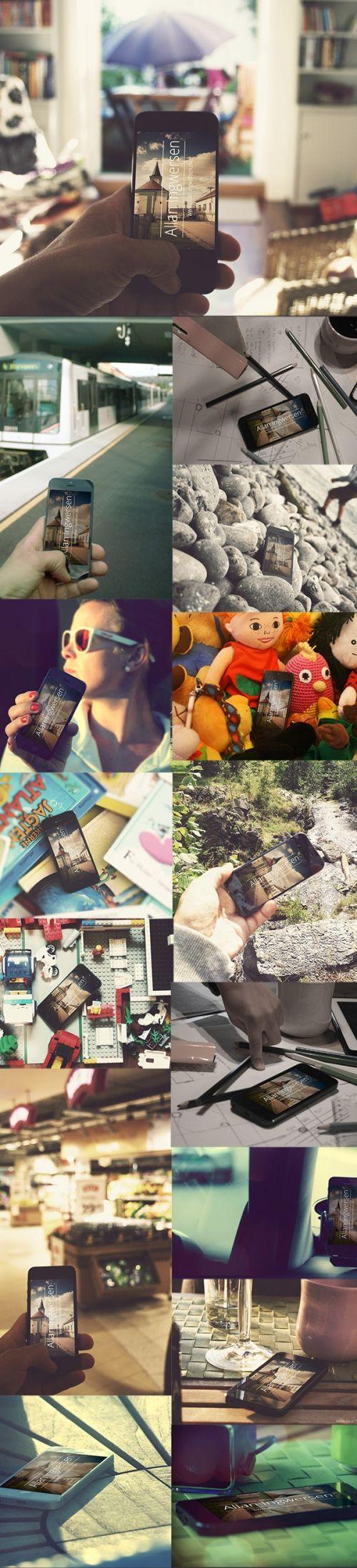 Фото-макеты iPhone