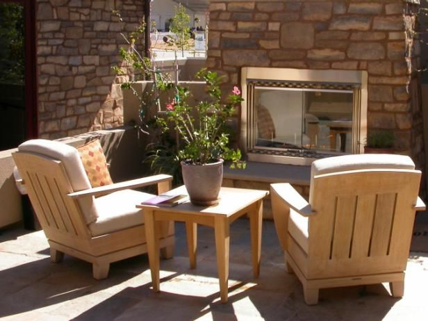Outdoor Propane Fireplaces - Explore choices for outdoor propane fireplaces, browse helpful images from HGTV.com.