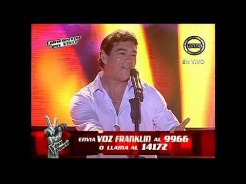 Franklin Rodríguez canta Cuando quieras, donde quieras - La Voz Perú - T...