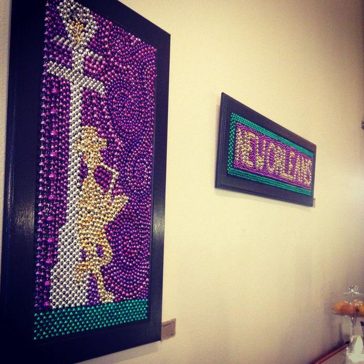 7 best Mosaic bead art images on Pinterest | Mardi gras beads, Bead ...
