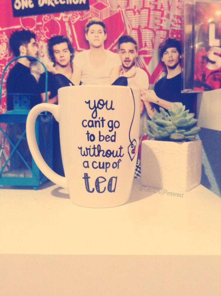OMG GUYS MY MUG CAME!! I'm in love with it and all it's little things ;)