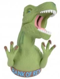 Ban of Rex Dinosaur Money Box