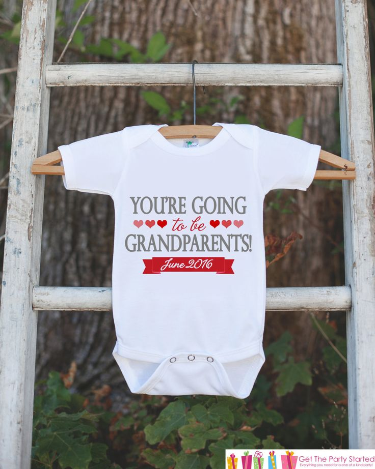 Pregnancy Announcement - You're Going To Be Grandparents - Pregnancy Reveal Idea - Surprise Baby Announcement - First Grandchild Reveal