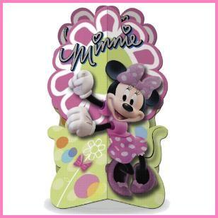 Minnie Mouse Centerpiece, $3.89 Cdn each.