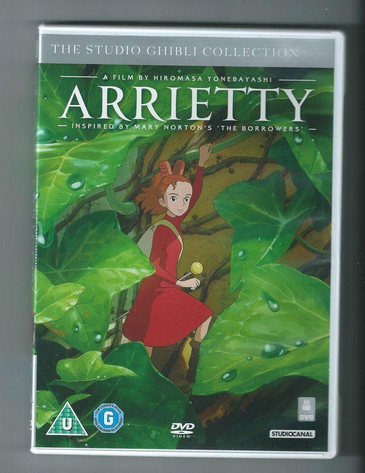 ARRIETTY by Studio Ghibli- Ed. straniera: solo inglese e giapponese, NO italiano
